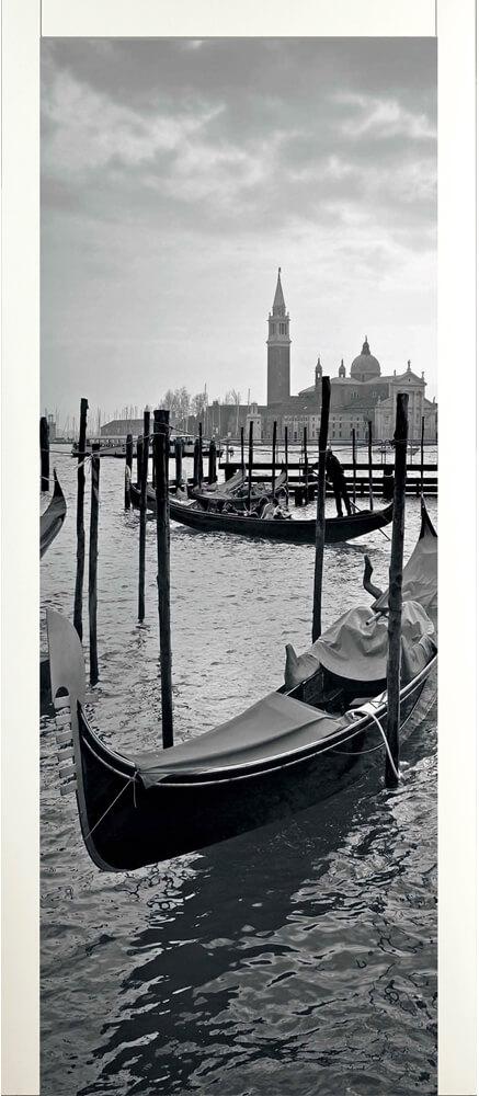 Art 120A Porta artistica in legno decoro Venezia