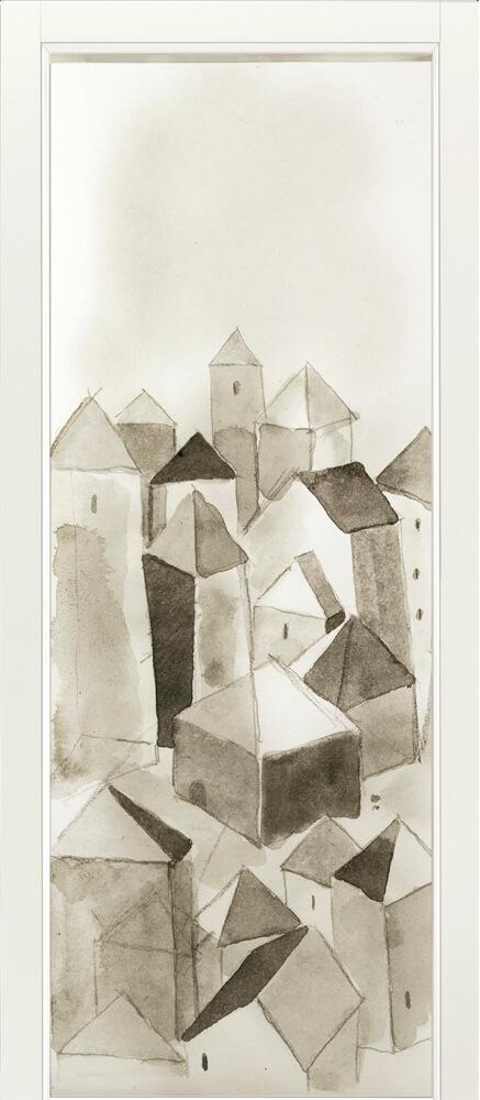 Art 102A Art Porta artistica in legno Raimondo Sandri