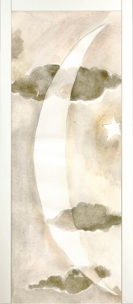 Art 115A Art Porta artistica in legno Raimondo Sandri