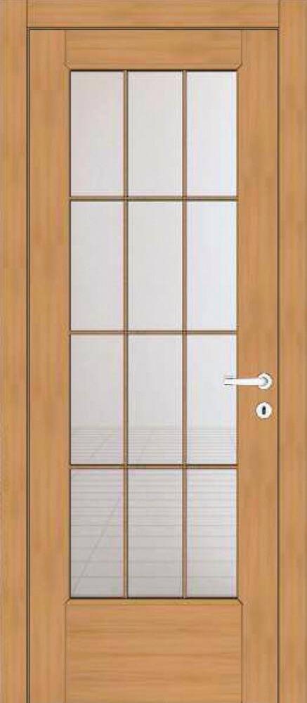 Art 41T1 Effigies Porta classica in legno