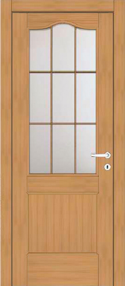 Art 60T1 Effigies Porta classica in legno