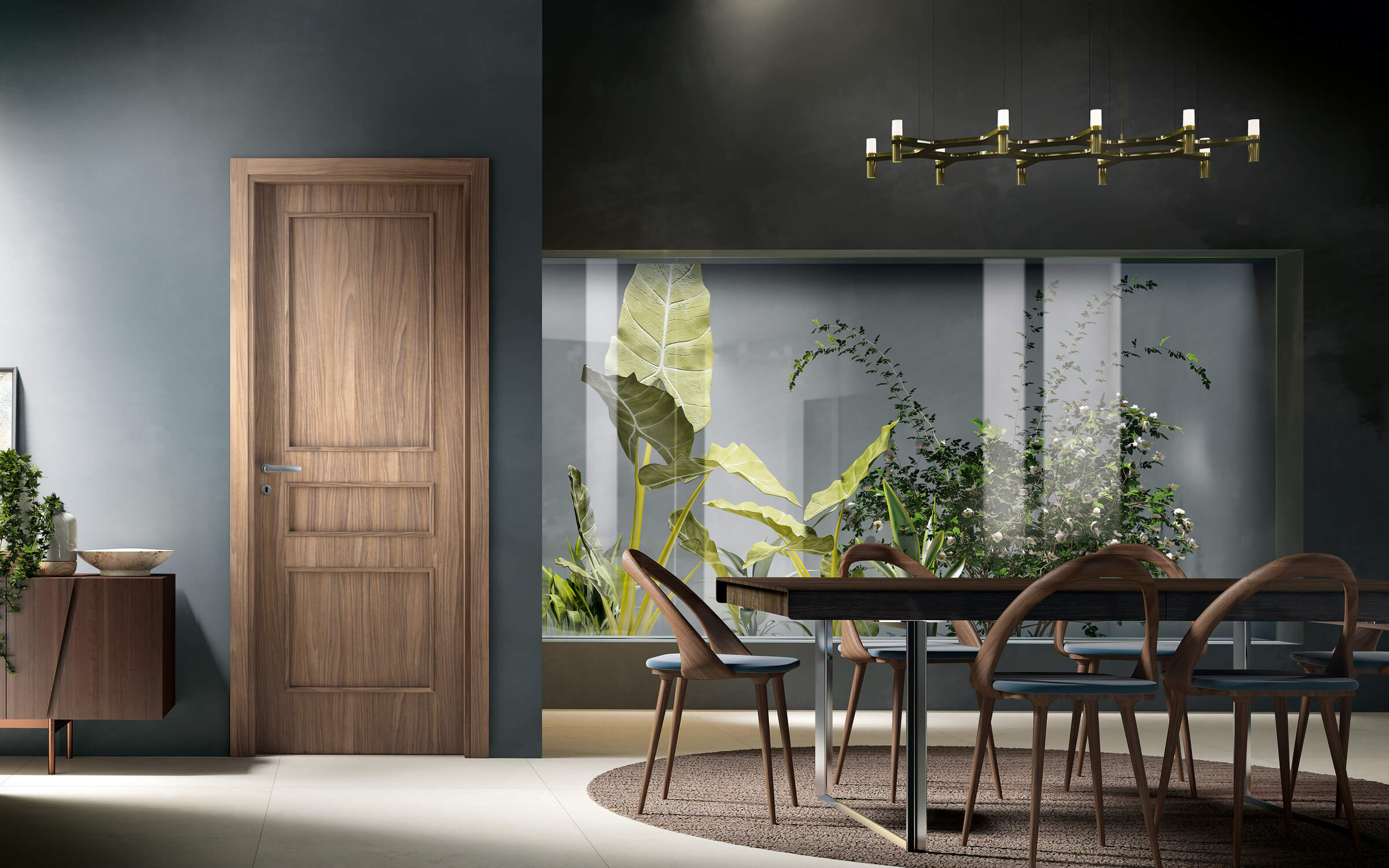 Atlante - classic laminate door