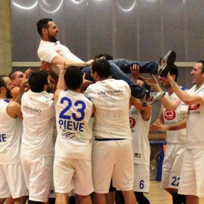 GD DORIGO Basket Pieve '94 promosso in serie C. Un traguar...