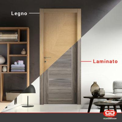 Legno e laminato? Come scegliere la porta interna più adegu...