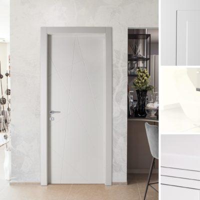 Porte laccate bianche: lucide o opache?