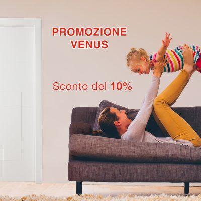 SCONTO DEL 10% SULLA COLLEZIONE VENUS