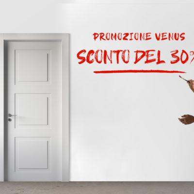 SCONTO DEL 30% SULLA COLLEZIONE VENUS